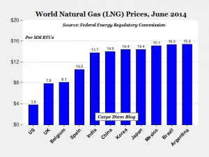 World LNG prices - June 2014 AEI and FERC-page1